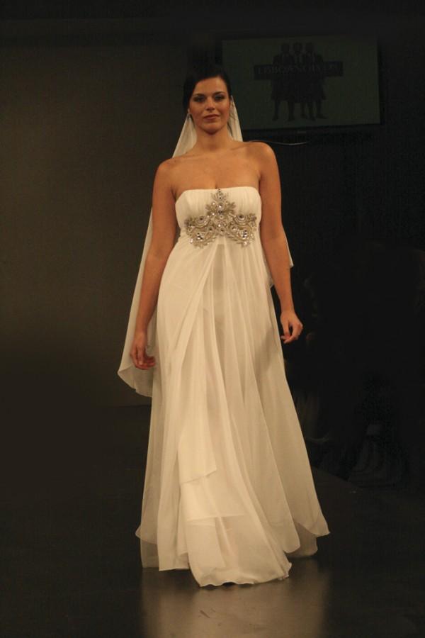 Vestido Noiva Império
