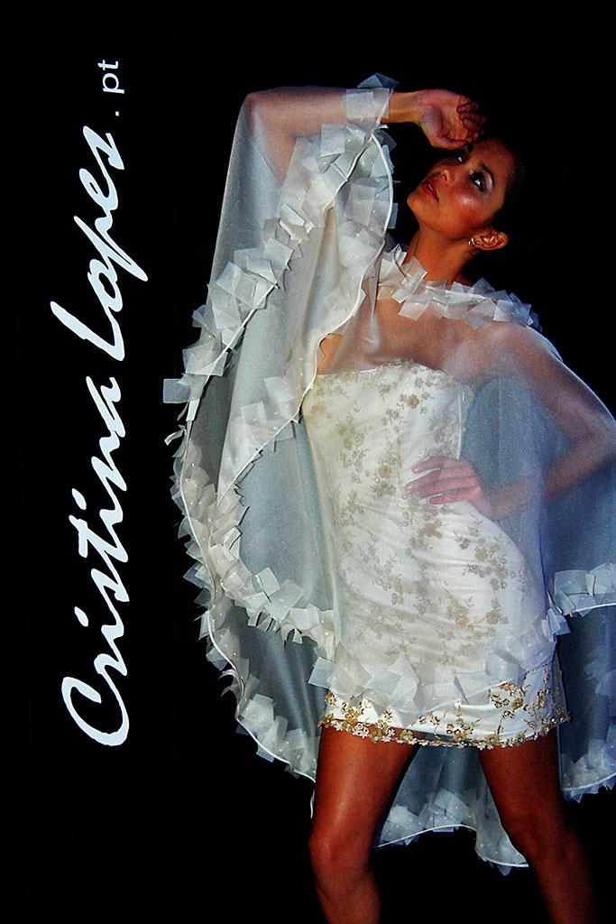 Vestidos de Noiva Mini para casamentos