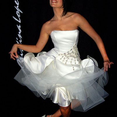 vestidos noiva curto