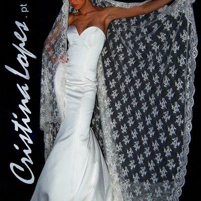 Vestido Noivas Sereia